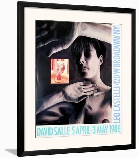 At Leo Castelli's, 1986-David Salle-Framed Art Print