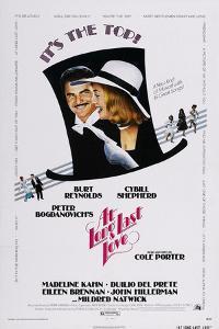 At Long Last Love, Burt Reynolds, Cybill Shepherd, 1975
