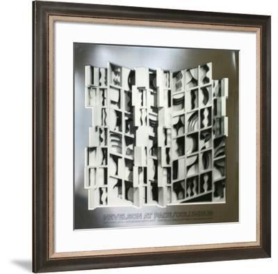 At Pace Columbus, Silver-Louise Nevelson-Framed Art Print