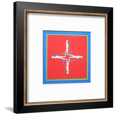 At Pace Columbus-Ernest Trova-Framed Art Print