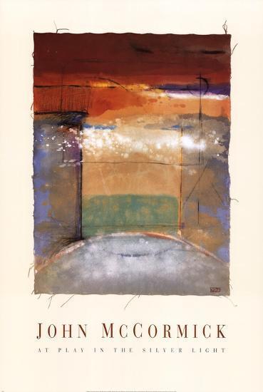 At Play In The Silver Light-John McCormick-Art Print