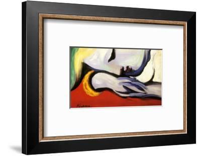 At Rest-Pablo Picasso-Framed Art Print