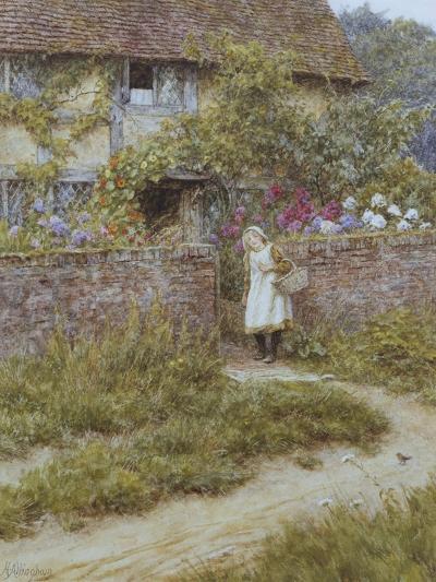 At Sandhills-Helen Allingham-Giclee Print