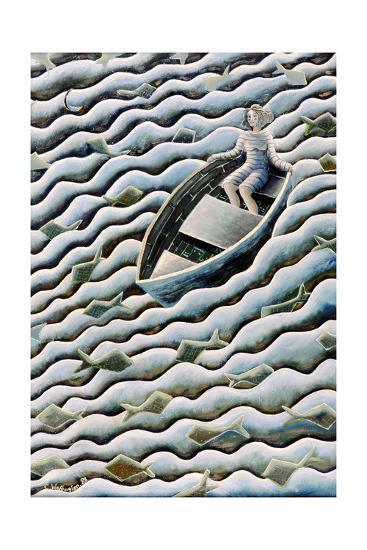 At Sea, 1989-Celia Washington-Giclee Print