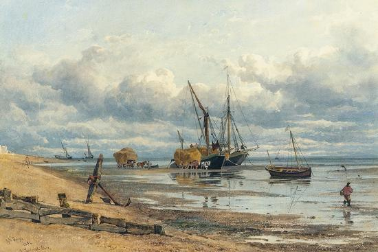 At Southend, Essex-George Arthur Fripp-Giclee Print