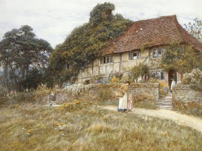 At Stedham Near Midhurst-Helen Allingham-Giclee Print