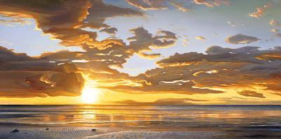 At Sundown-Dan Werner-Art Print