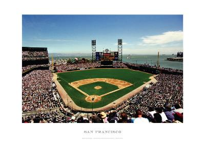 AT&T Park, San Francisco-Ira Rosen-Art Print