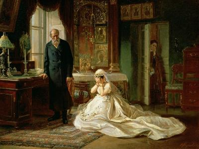 At the Altar, 1870S-Firs Sergeevich Zhuravlev-Giclee Print