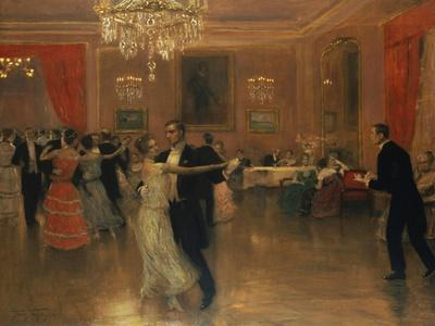 At the Ball-Frederick Vezin-Giclee Print