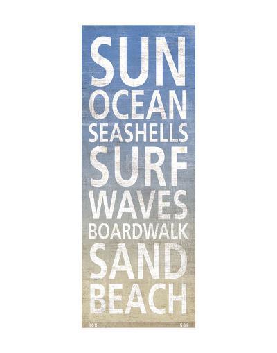 At The Beach-Sparx Studio-Art Print