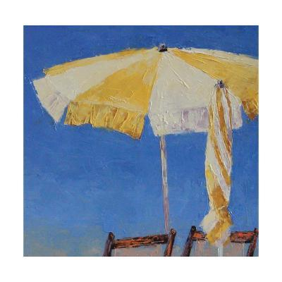 At the Beach-Leslie Saeta-Art Print