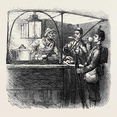 At the Brighton Theatre of War: Coffee for Two. 1880--Giclee Print