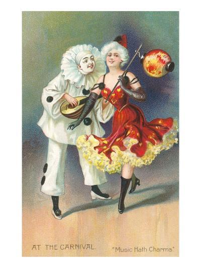 At the Carnival, Music Hath Charms--Art Print