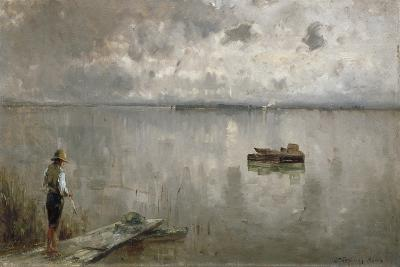 At the Chiemsee-Joseph Wopfner-Giclee Print