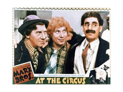 At the Circus - Lobby Card Reproduction--Art Print