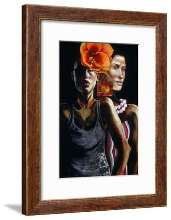 At the Club, 2003-Hilary Dunne-Framed Giclee Print