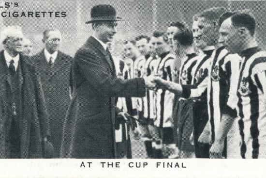 'At the Cup Final', 1924 (1937)-Unknown-Photographic Print