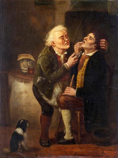 At the Dentist-Ferdinand de Braekeleer the Elder-Giclee Print