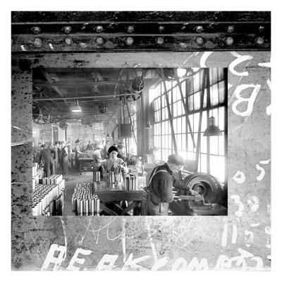 At the Factory II--Art Print