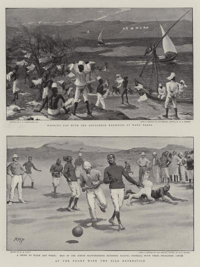 At the Front with the Nile Expedition-Charles Joseph Staniland-Giclee Print