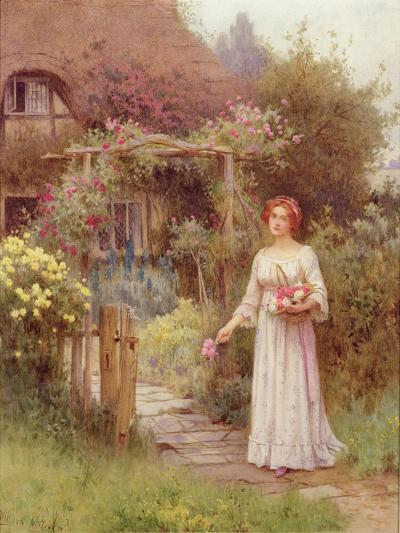 At the Garden Gate-William Affleck-Giclee Print