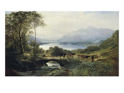 At the Head of the Loch, 1863-Samuel Bough-Giclee Print