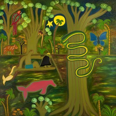 At the Heart of the Amazon, 2010-Cristina Rodriguez-Giclee Print