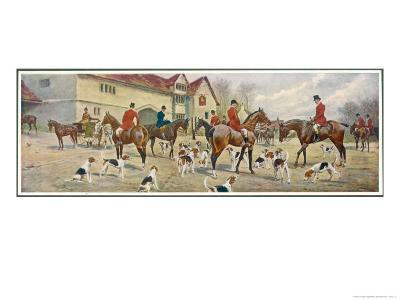 At the Meet-George Wright-Giclee Print