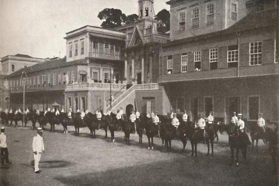 'At the Military Police Head-quarters', 1914-Unknown-Photographic Print