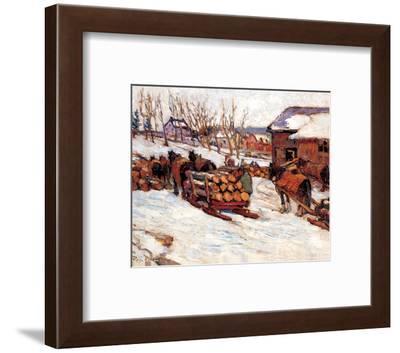 At the Mill-Rita Mount-Framed Art Print