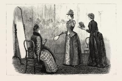 At the Milliner's, 1890--Giclee Print