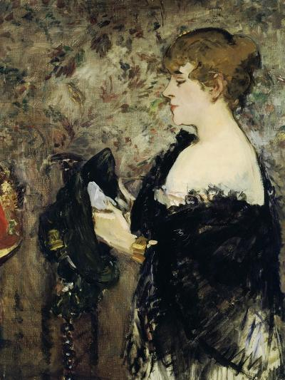 At the Milliner's (La Modiste), 1881-Edouard Manet-Giclee Print
