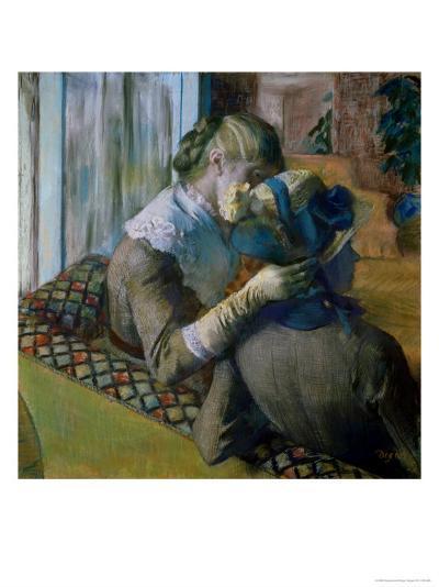 At the Milliner's-Edgar Degas-Giclee Print