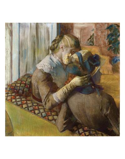 At the Milliners, 1881-Edgar Degas-Art Print