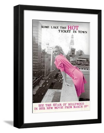 At The Movies I-The Vintage Collection-Framed Art Print