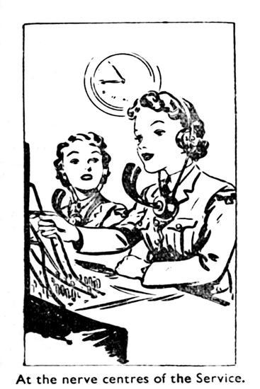 'At the nerve centres of the Service', 1940-Unknown-Giclee Print