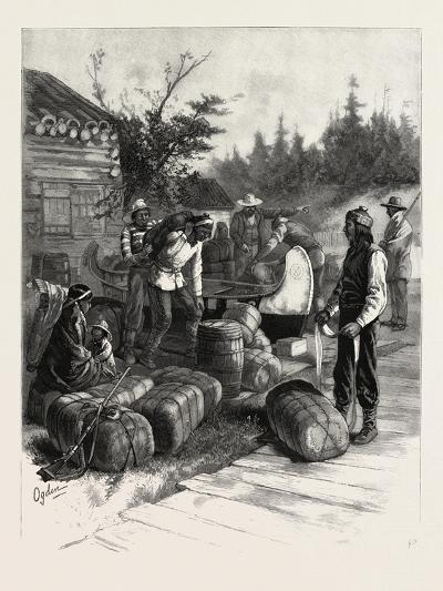 At the Portage--Giclee Print