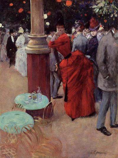 At the Public Garden, c.1884-Jean Louis Forain-Giclee Print