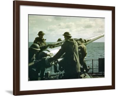At the Ready--Framed Photographic Print