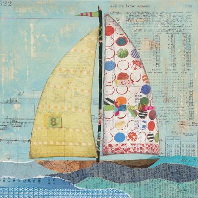 At the Regatta I Sail Sq-Courtney Prahl-Art Print