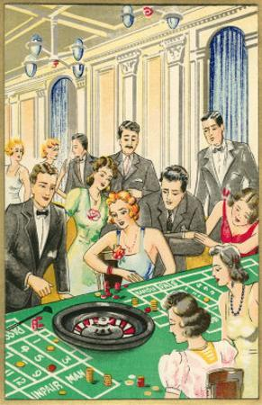At the Roulette Table