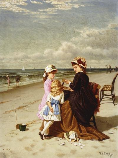 At the Seashore-Samuel S.		 Carr-Giclee Print