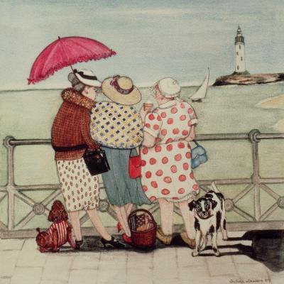 At the Seaside-Gillian Lawson-Giclee Print