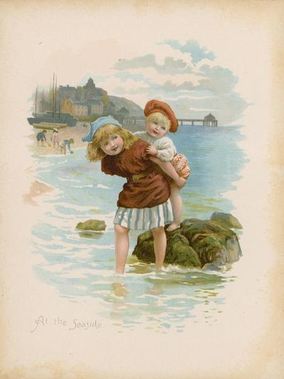 At the Seaside--Giclee Print