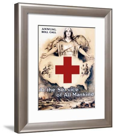 At the Service of All Mankind-Lawrence Wilbur-Framed Art Print