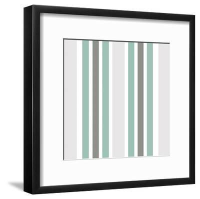 At The Shore Pattern-Kimberly Allen-Framed Art Print