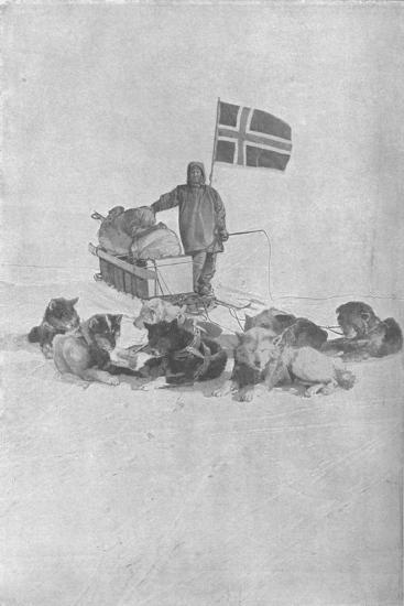 'At the South Pole', 1911, (1928)-Unknown-Giclee Print