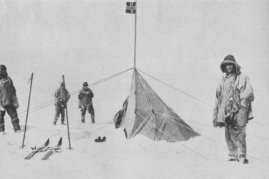 'At the South Pole', 1911, (1936)-Unknown-Photographic Print