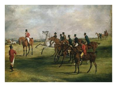 At the Start-Henry Thomas Alken-Giclee Print